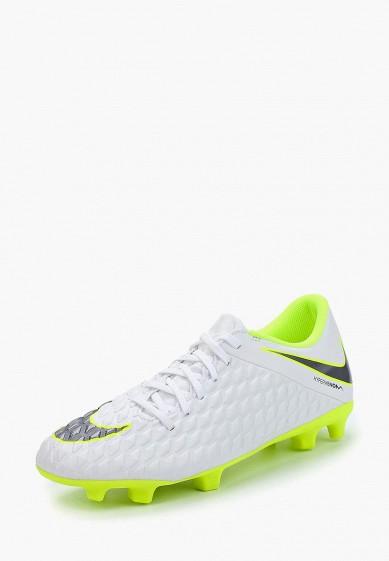 Купить Бутсы Nike - цвет: белый, Вьетнам, NI464AMBBNQ0