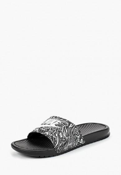 Купить Сланцы Nike - цвет: черный, Индонезия, NI464AMBWQK7