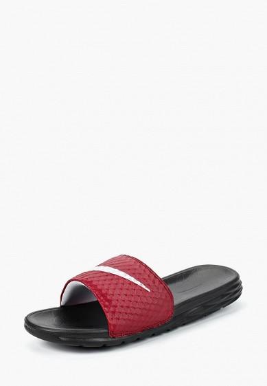 Купить Сланцы Nike - цвет: бордовый, Вьетнам, NI464AMBWQL3