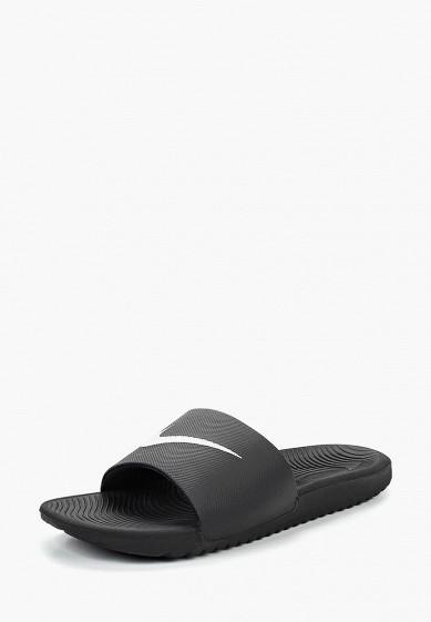 Купить Сланцы Nike - цвет: черный, Индонезия, NI464AMBWQN3