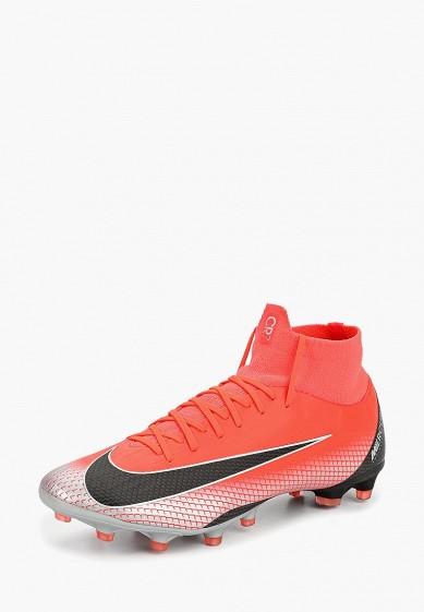 Бутсы Nike - цвет: красный, Китай, NI464AMCMHU7  - купить со скидкой