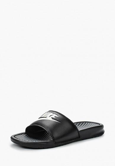 Купить Сланцы Nike - цвет: черный, Тайвань (Китай), NI464AMFB282