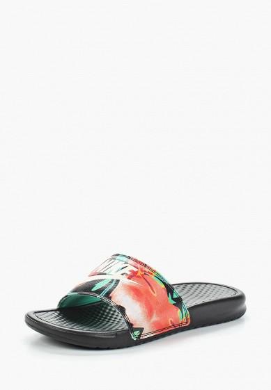 Купить Сланцы Nike - цвет: черный, Индонезия, NI464AWAARG2