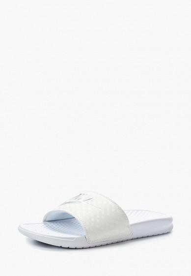 Купить Сланцы Nike - цвет: белый, Индонезия, NI464AWAHG35