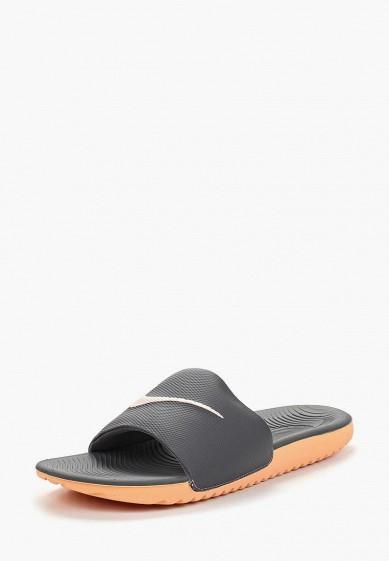 Купить Сланцы Nike - цвет: серый, Индонезия, NI464AWBBLY5
