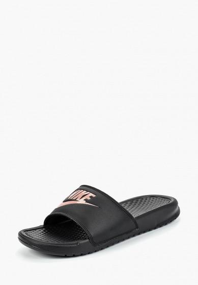 Купить Сланцы Nike - цвет: черный, Китай, NI464AWBWRV0