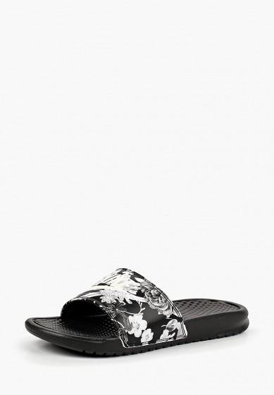Купить Сланцы Nike - цвет: черный, Индонезия, NI464AWBWRV2