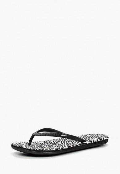Купить Сланцы Nike - цвет: черный, Индонезия, NI464AWHBU81