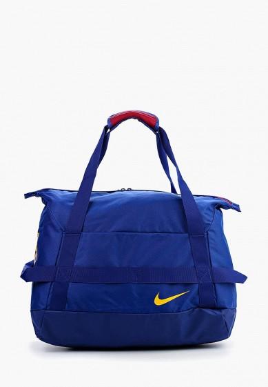 Купить Сумка спортивная Nike - цвет: синий, Китай, NI464BMUFA80