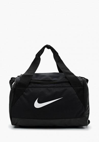 Купить Сумка спортивная Nike - цвет: черный, Индонезия, NI464BUUFA36