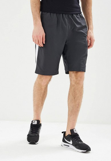 Купить Шорты спортивные Nike - цвет: серый, Вьетнам, NI464EMAAAS5