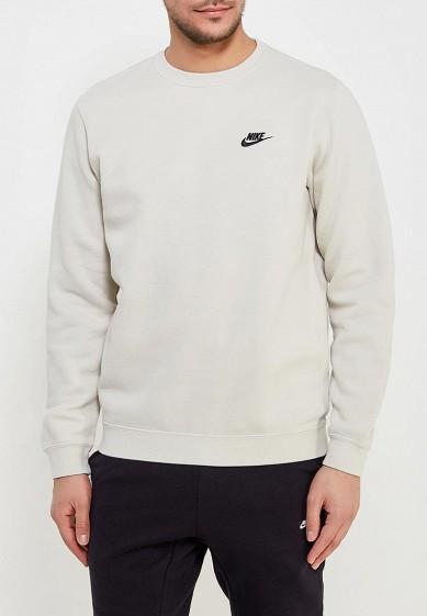 Купить Свитшот Nike - цвет: бежевый, Пакистан, NI464EMAAAS7