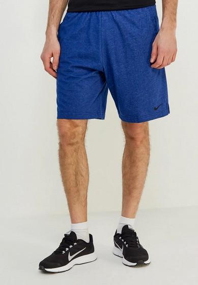Шорты спортивные Nike - цвет: синий, Малайзия, NI464EMAABS9  - купить со скидкой