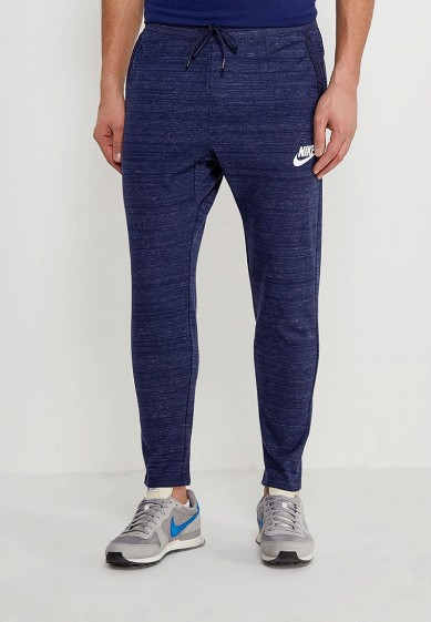 Купить Брюки спортивные Nike - цвет: синий, Китай, NI464EMAABX9