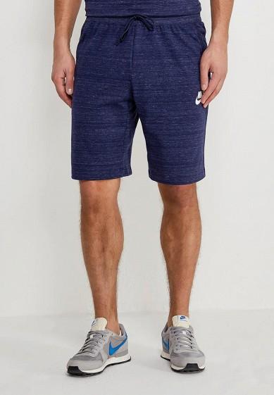 Купить Шорты спортивные Nike - цвет: синий, Камбоджа, NI464EMAABY1