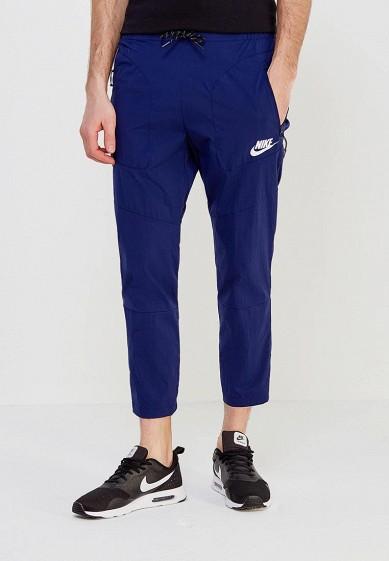 Купить Брюки спортивные Nike - цвет: синий, Вьетнам, NI464EMAABY8