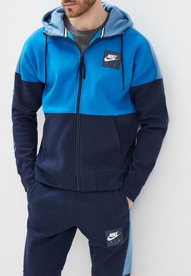 Купить Толстовка Nike - цвет: синий, Камбоджа, NI464EMAACB2