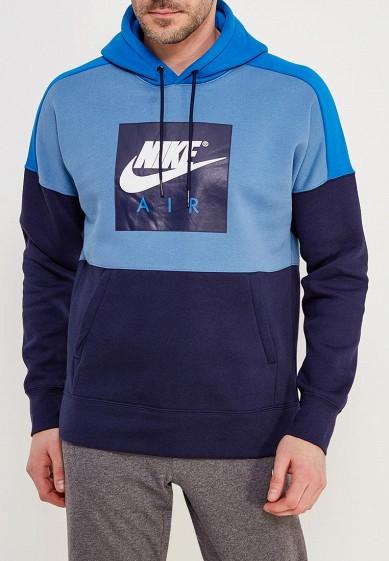 Купить Худи Nike - цвет: синий, Камбоджа, NI464EMAACB5