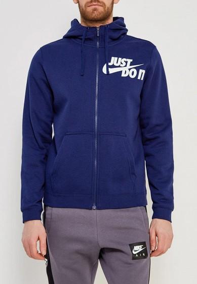 Купить Толстовка Nike - цвет: синий, Малайзия, NI464EMAACE0