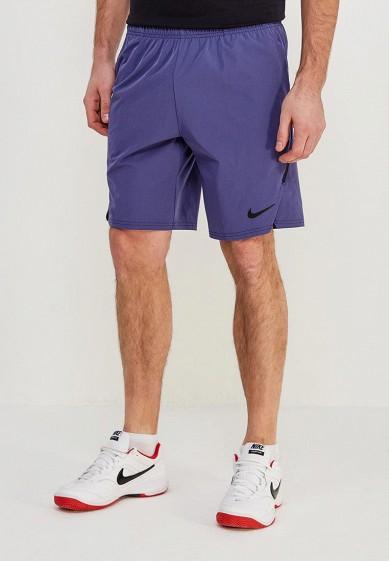 Шорты спортивные Nike - цвет: синий, Китай, NI464EMAACG4  - купить со скидкой
