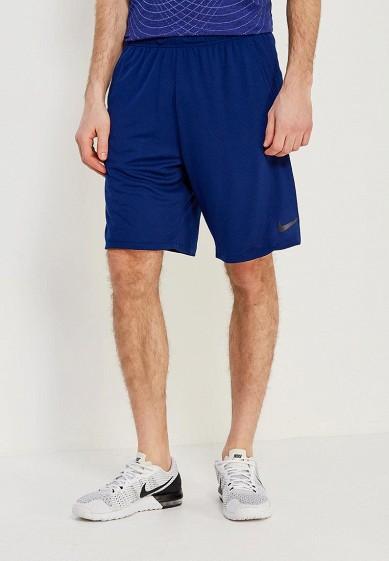 Купить Шорты спортивные Nike - цвет: синий, Вьетнам, NI464EMAACJ4