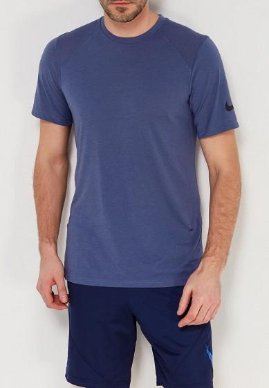 Купить Футболка спортивная Nike - цвет: синий, Таиланд, NI464EMAACJ9