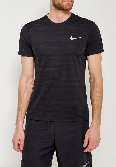 Купить Футболка спортивная Nike - цвет: черный, Камбоджа, NI464EMAACK0
