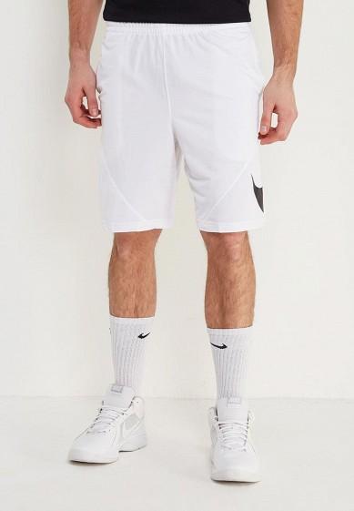 Купить Шорты спортивные Nike - цвет: белый, Таиланд, NI464EMAACU5