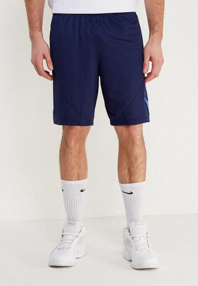 Купить Шорты спортивные Nike - цвет: синий, Таиланд, NI464EMAACU6