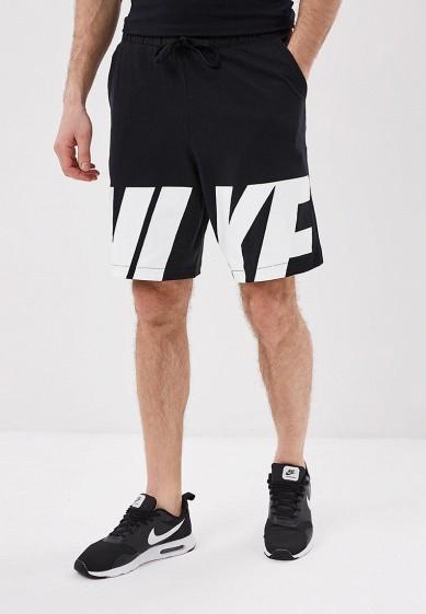 Купить Шорты спортивные Nike - цвет: черный, Камбоджа, NI464EMBBJC3