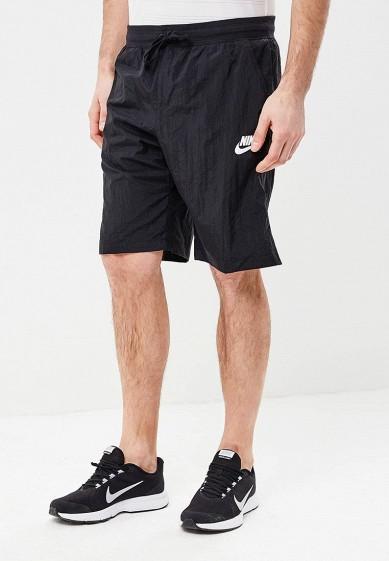 Купить Шорты спортивные Nike - цвет: черный, Вьетнам, NI464EMBBJD7