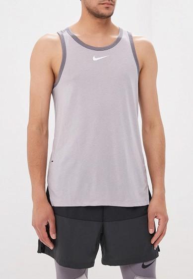 Купить Майка спортивная Nike - цвет: серый, Таиланд, NI464EMBBJI5