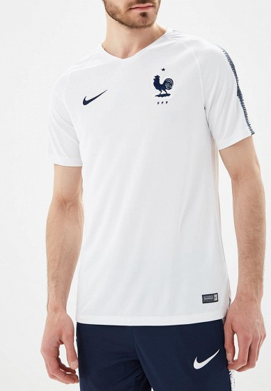 Купить Футболка спортивная Nike - цвет: белый, Таиланд, NI464EMBBJJ5