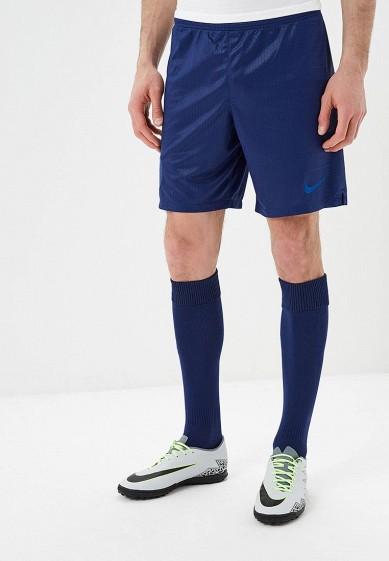 Шорты спортивные Nike - цвет: синий, Бангладеш, NI464EMBBJL8  - купить со скидкой
