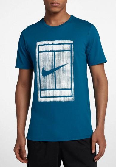 Купить Футболка Nike - цвет: синий, Камбоджа, NI464EMBBJS4