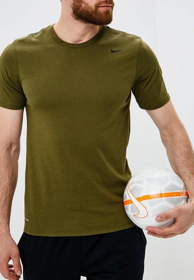 Купить Футболка спортивная Nike - цвет: хаки, Китай, NI464EMBWDH7