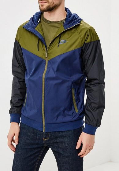 Купить Ветровка Nike - цвет: синий, Вьетнам, NI464EMBWDI2