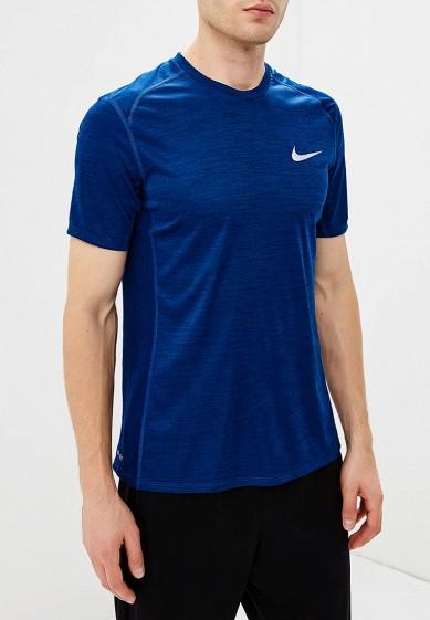 Купить Футболка спортивная Nike - цвет: синий, Камбоджа, NI464EMBWDL8