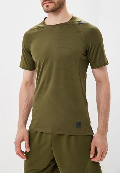 Купить Футболка спортивная Nike - цвет: хаки, Камбоджа, NI464EMBWHB6