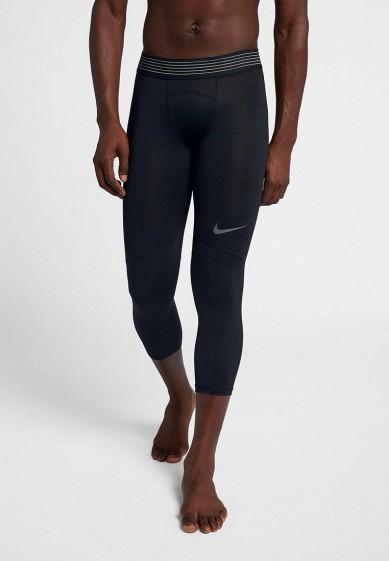 Купить Тайтсы Nike - цвет: черный, Камбоджа, NI464EMBWHB8