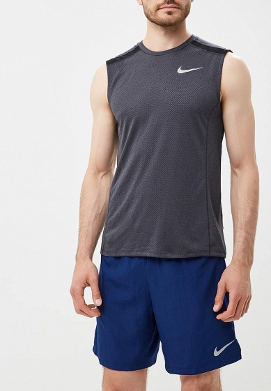Купить Майка спортивная Nike - цвет: серый, Камбоджа, NI464EMBWHE9