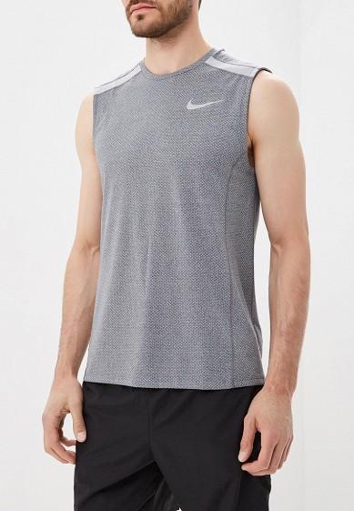 Купить Майка спортивная Nike - цвет: серый, Камбоджа, NI464EMBWHF0