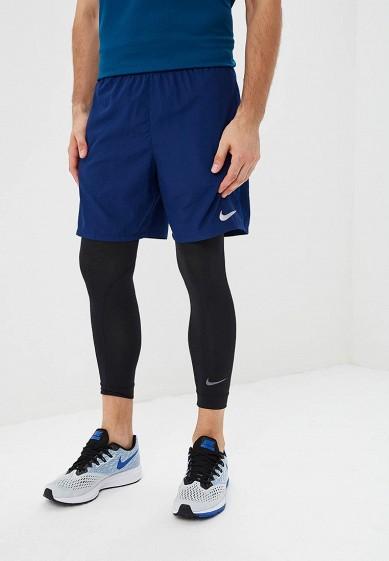Шорты спортивные Nike - цвет: синий, Вьетнам, NI464EMBWHF8  - купить со скидкой