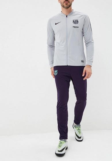 Купить Костюм спортивный Nike - цвет: серый, синий, Индонезия, NI464EMBWHG5