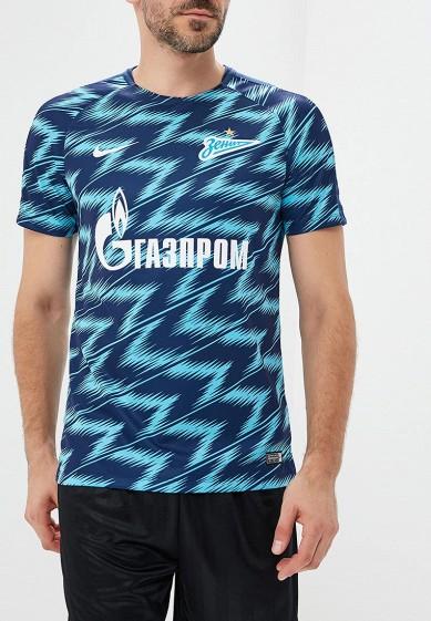 Купить Футболка спортивная Nike - цвет: синий, Таиланд, NI464EMBWHM5