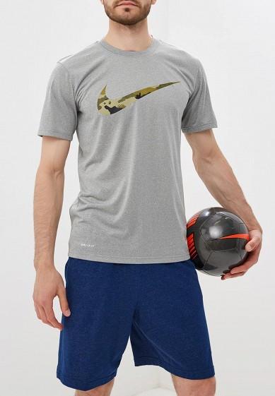 Купить Футболка спортивная Nike - цвет: серый, Китай, NI464EMBWHN0