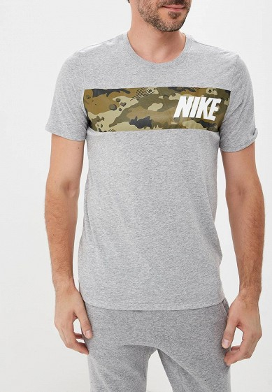 Купить Футболка спортивная Nike - цвет: серый, Малайзия, NI464EMBWHN5