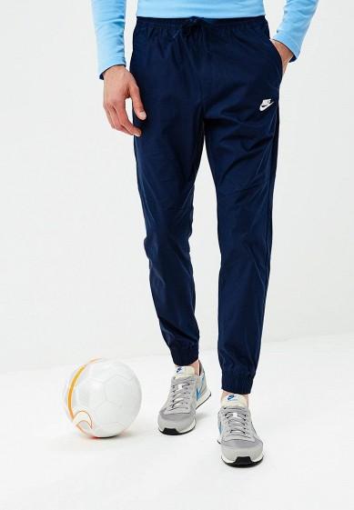 Купить Брюки Nike - цвет: синий, Индонезия, NI464EMBWHS4