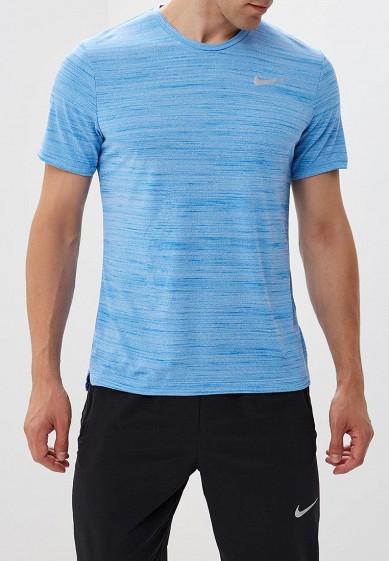 Купить Футболка спортивная Nike - цвет: голубой, Камбоджа, NI464EMBWHW6