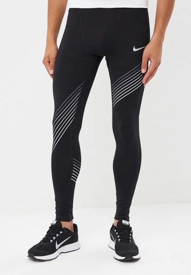 Купить Тайтсы Nike - цвет: черный, Вьетнам, NI464EMBWHW9